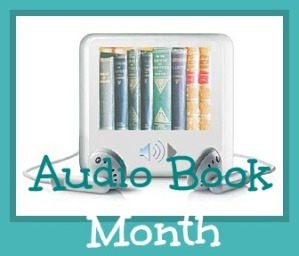 Audiobook Month button