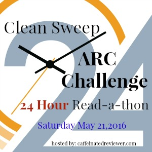 24 hr ARC readathon Button