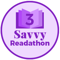 savvy readathon 3 books read badge