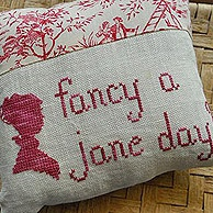 jane austen cushion quote