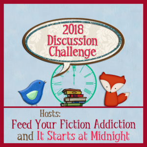 2018-Discussion-Challenge feed your fiction addiction - it starts at midnight