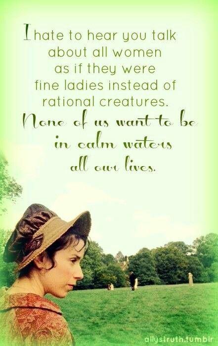 sophia croft quote Persuasion Jane Austen calm waters