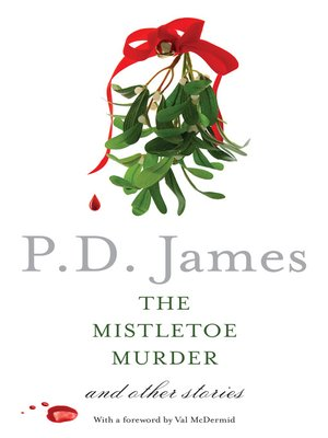 pd james mistletoe murder and other stories